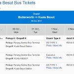 Bolehkah Beli Tiket Bas Secara Online
