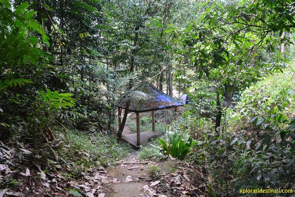 Cari spot terbaik untuk pasang khemah di Sungai Kedondong, Batang Kali