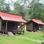 Tempat penginapan untuk pengunjung di Taman Alam Kuala Selangor