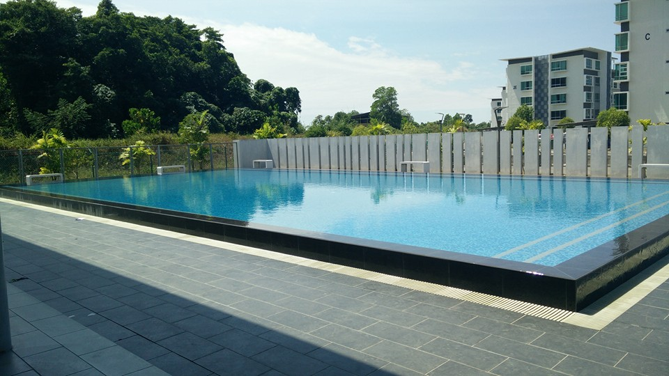homestay-kk-ada-swimming-pool