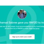 Saya nak beri anda RM120 untuk anda pergi bercuti