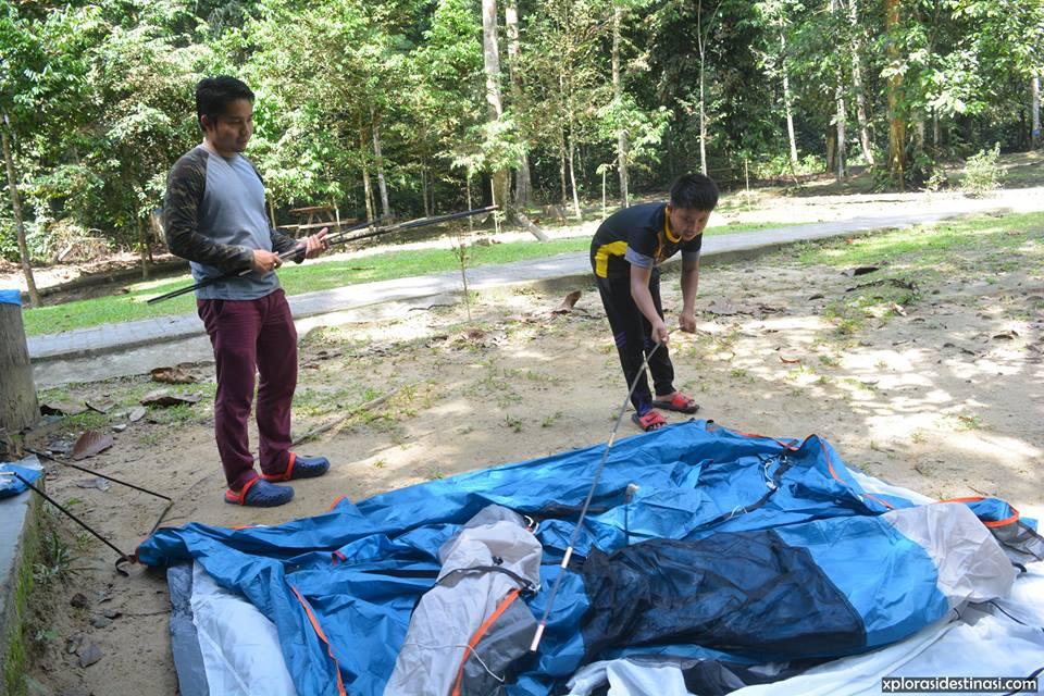 camping-di-hutan-lipur-sungai-tua