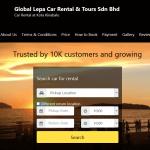 Perkhidmatan Kereta Sewa yang boleh dipercayai di Kota Kinabalu