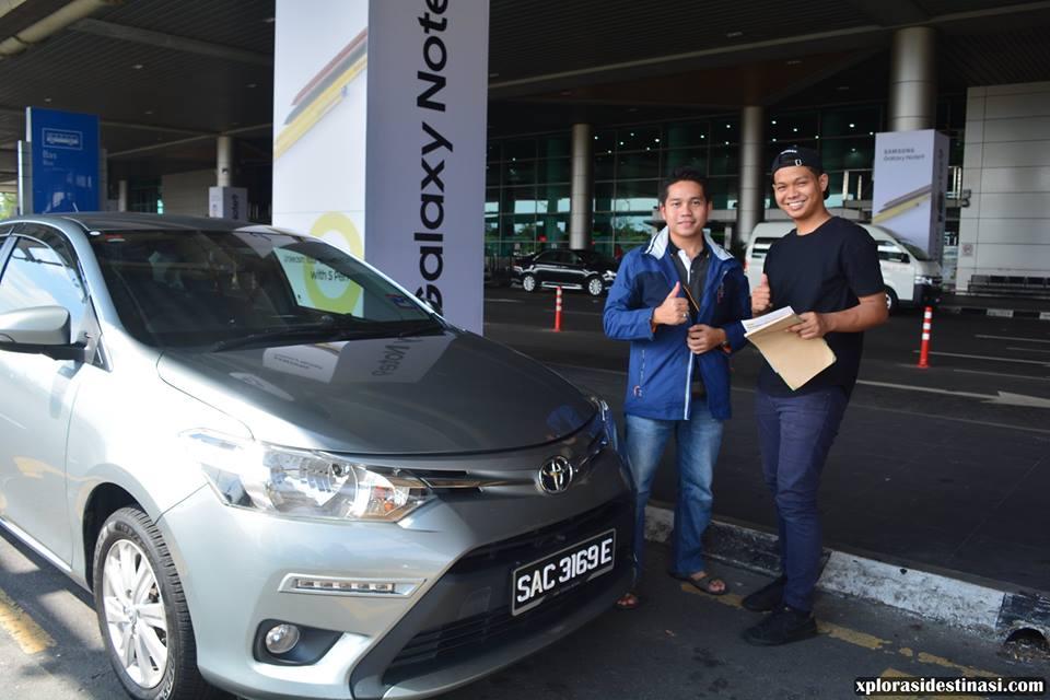 Pengalaman sewa kereta di Kota Kinabalu bersama dengan syarikat Global Lepa Car Rentals & Tours Sdn Bhd