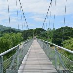 Pengalaman bersiar-siar di Jambatan Gantung Tamparuli, Sabah