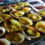 Makan Lokan Bakar di Kampung Salut, Jalan Sulaman, Kota Kinabalu