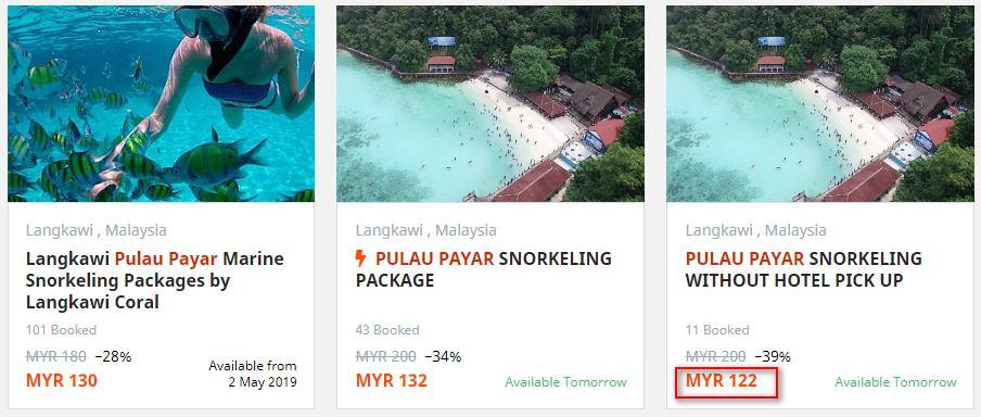 senarai-harga-pakej-snorkeling