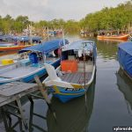 Makan malam di Medan Selera Nelayan Bukit Malut Pulau Langkawi