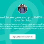 Diskaun sehingga RM165 untuk tempahan di laman web Airbnb