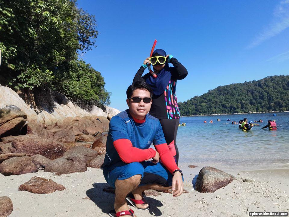 seronok-pengalaman-snorkeling-pangkor